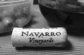 Navarro Vineyard Pinot Noir - Deep End Blend cork