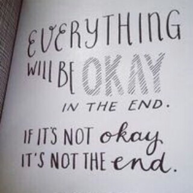Everything Will Be Ok Today Have Hope Quote Tuesd Flickr