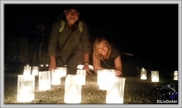 10.000 velas iluminan Fuentidueña en la noche de agua y fuego 20