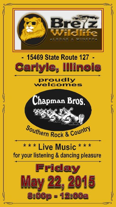 Chapman Brothers 5-22-15