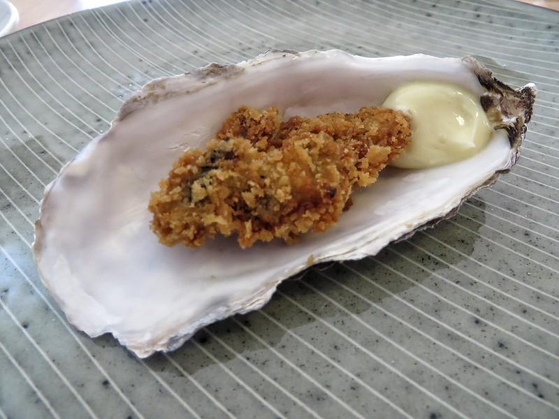 A Caledonian crispy oyster
