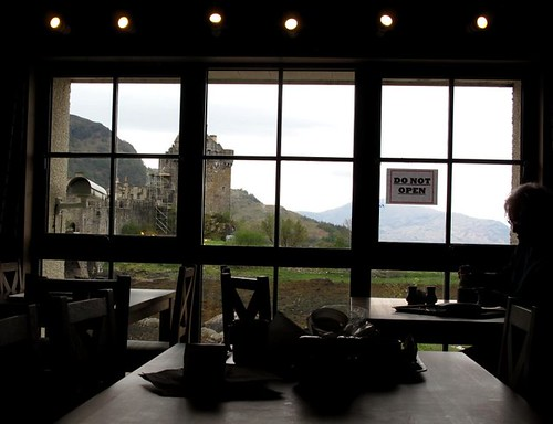 The cafe at Eilean Donan