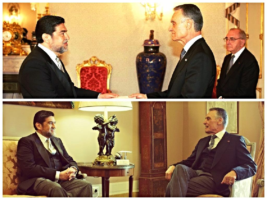 El embajador Alfredo Pérez Bravo presenta Credenciales en Portugal