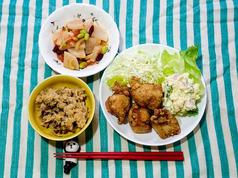 2015年6月4日の晩ご飯