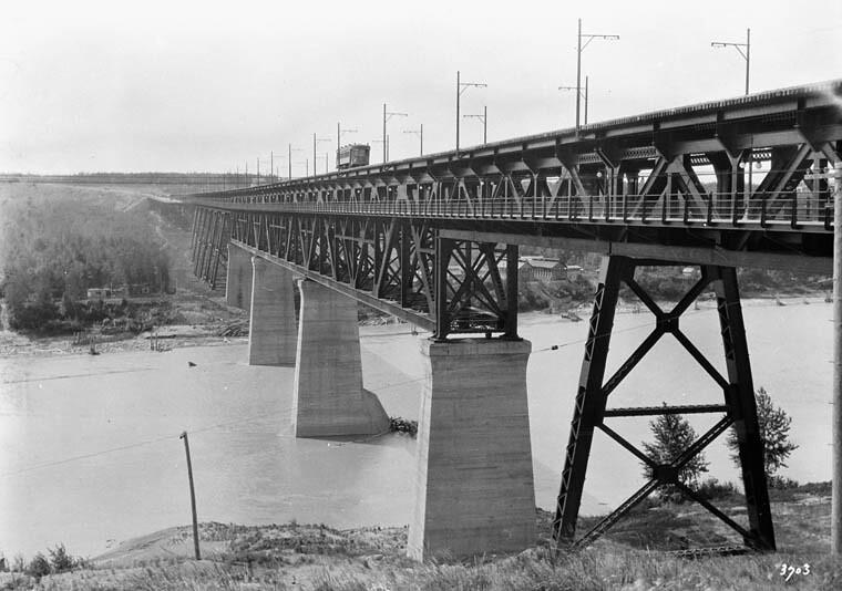 Ford Credit Canada Jobs Edmonton: High-level Bridge In Edmonton / Pont En Contre-haut à Edmo