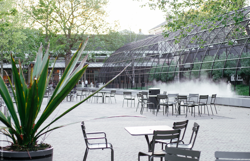Amsterdam, Cafe-Restaurant Plantage