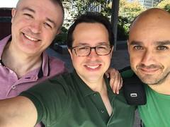 Mikel, Fede y Potxotxo de Bilbao
