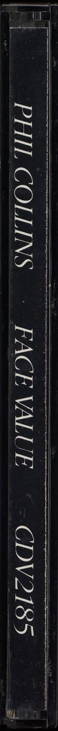 Face Value, spine