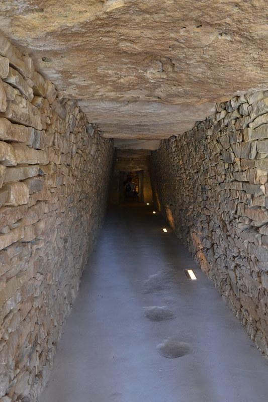 Aqui se aprecian las paredes de mamposteria cubiertas con losas.