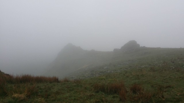 Tavy Cleave Tors in the mist #sh