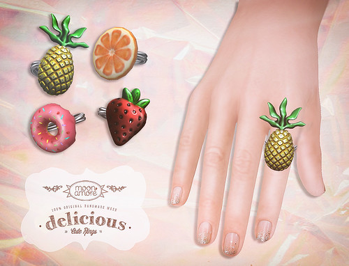 :Moon Amore: Delicious Rings