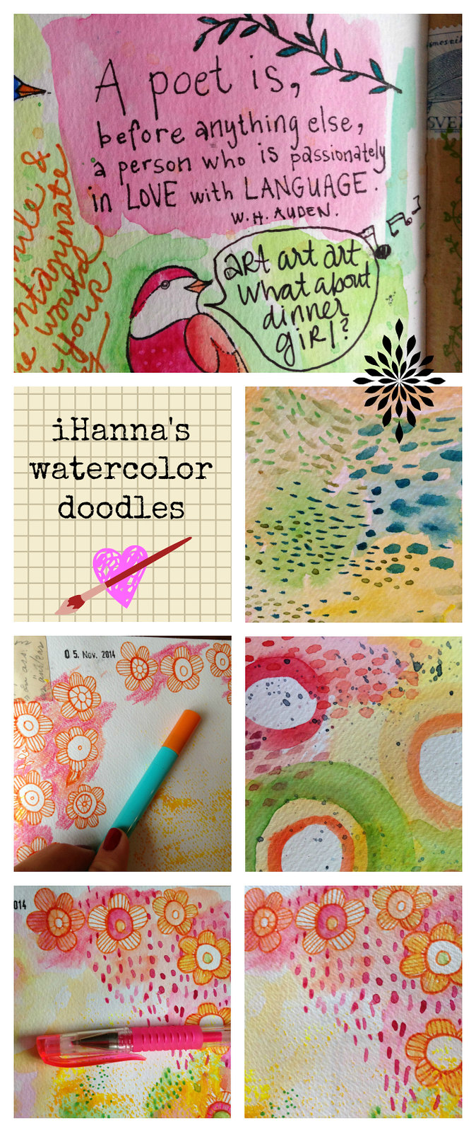 iHanna's Watercolor doodles