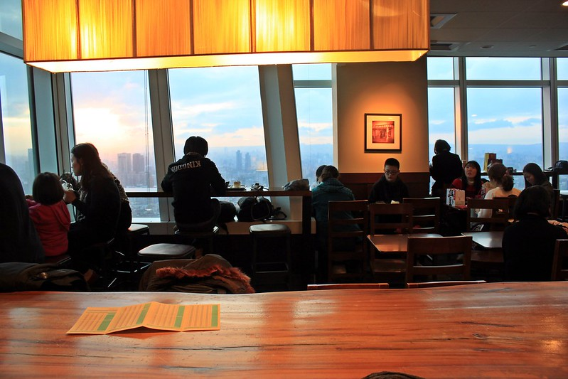 Starbucks統一星巴克-省錢上101高樓-台北景色咖啡館  (17)
