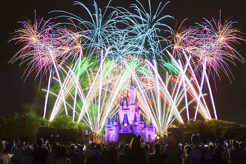 Walt Disney World Magic Kingdom Wishes Fireworks 2015 | by Anthony Quintano