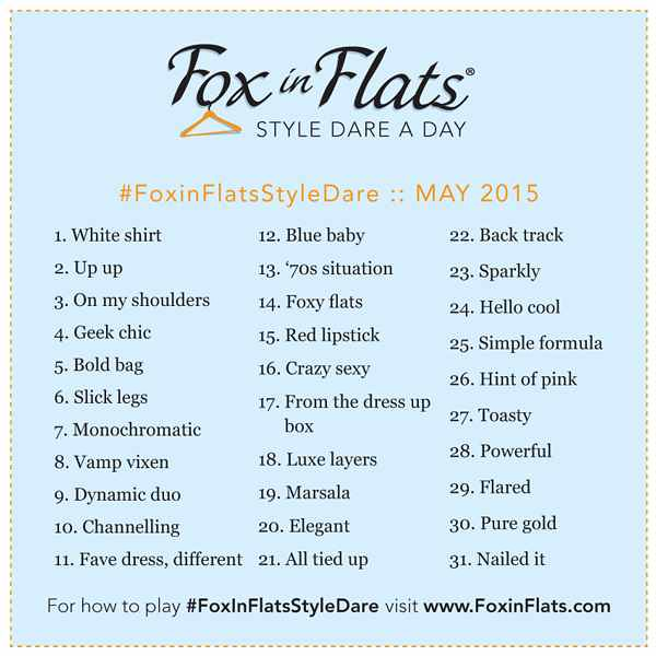 Style Dare Fox in Flats May 2015
