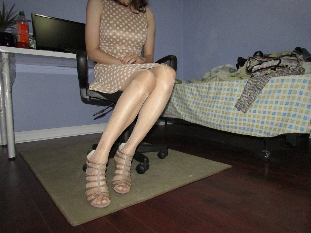 Crossdresser heels flickr