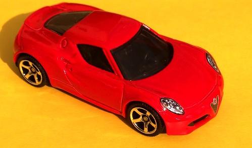 Matchbox - Alfa Romeo 4C