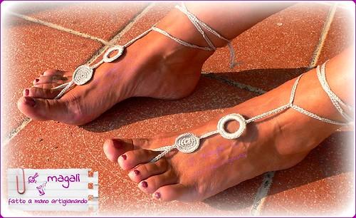 sandali piedinudi