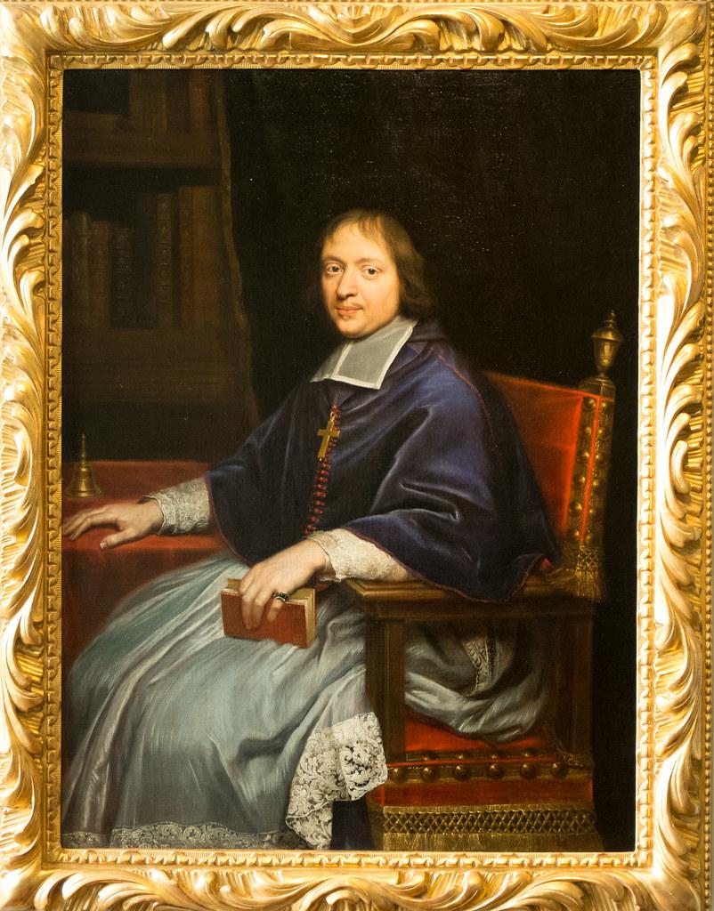 """... Pierre Mignard (1612 - 1695) """"Portrait de Jacques-Bénigne Bossuet"""" c"""