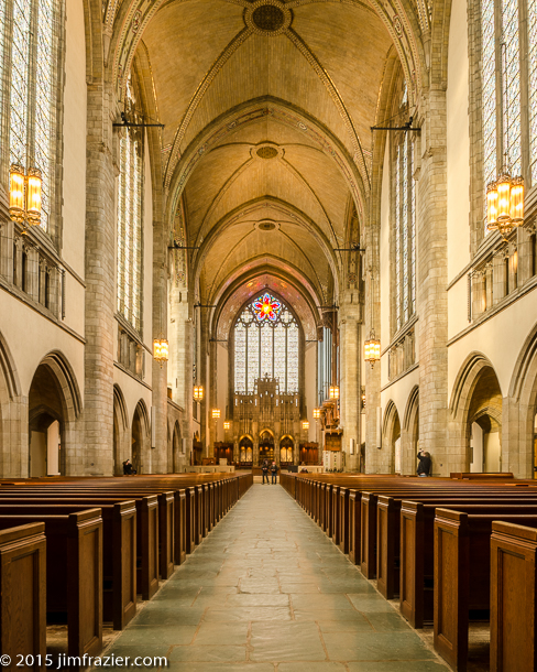 Rockefeller Chapel - Looking Towards the Chancel