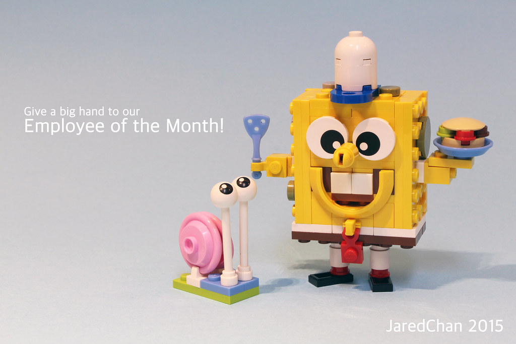 SpongeBob and Gary - Jared Chan