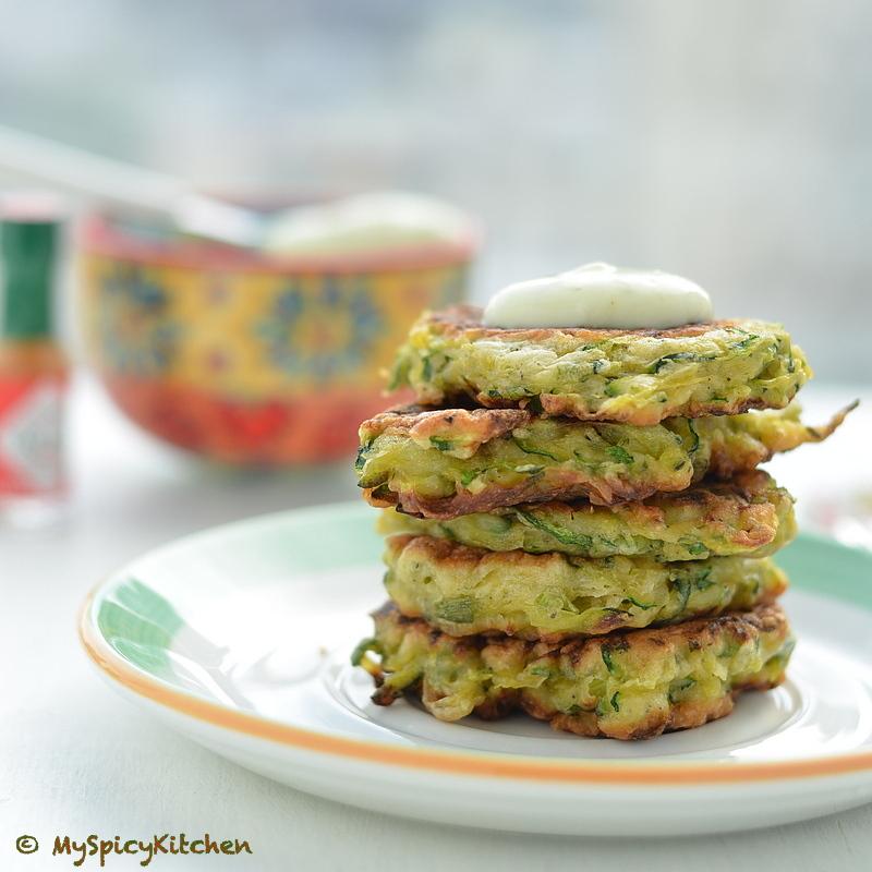 Fritters, American Fritters, American Cuisine, Blogging Marathon, Zucchini