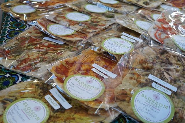 Blossom Bakery - Gluten Free Vegan Pizzas at Niagara VegFest