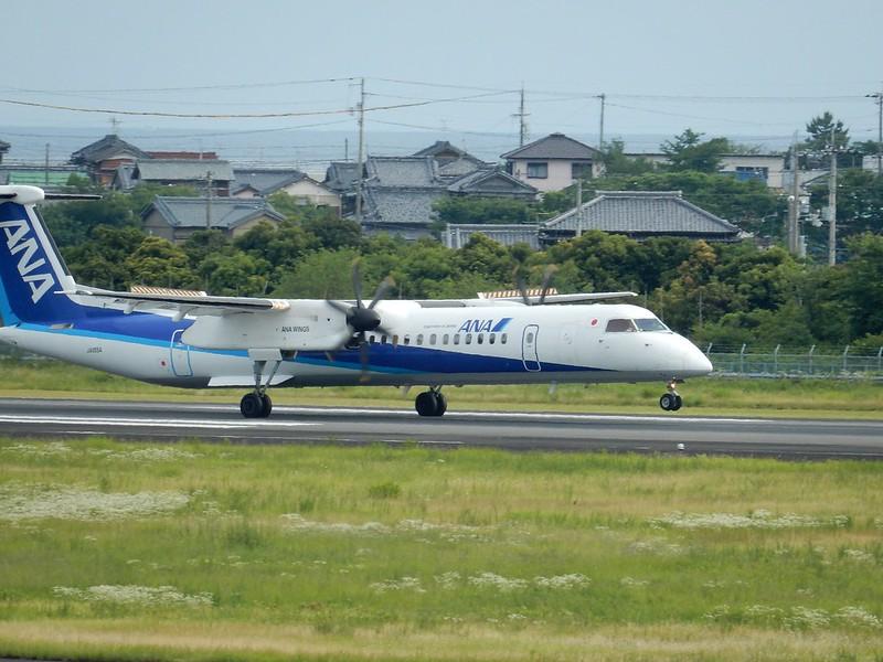 ANA DHC8-Q400 JA855A / KCZ