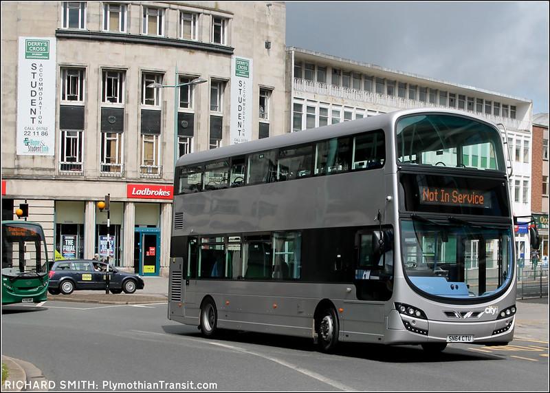 Plymouth Citybus SN64CTU