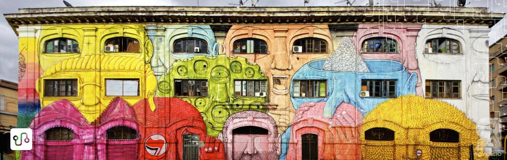 Porto Fluviale Facce Street Art Tour Roma