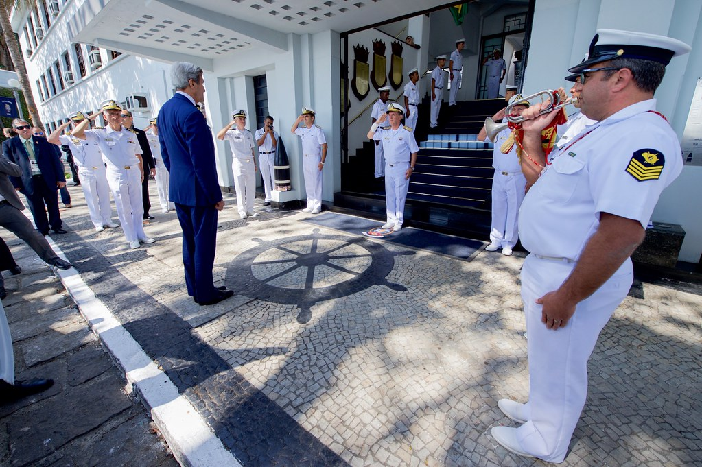 Members of the brazilian naval academy salute and greet se flickr members of the brazilian naval academy salute and greet secretary kerry in rio de janiero m4hsunfo