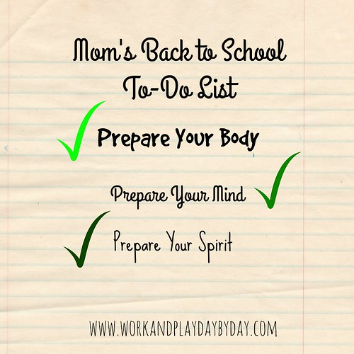 Moms Back to School To Do List