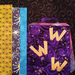 All caught up!  I think Fred and George would approve of these #WeasleyWizardWheezes bag! #projectofdoom #pod2015 #projectofdoom2015 #fandominstitches @sewhookedjen #turntopage394 #robertkaufman #cottonandsteel @cottonandsteel #alexamarcelleabegg #fabricl