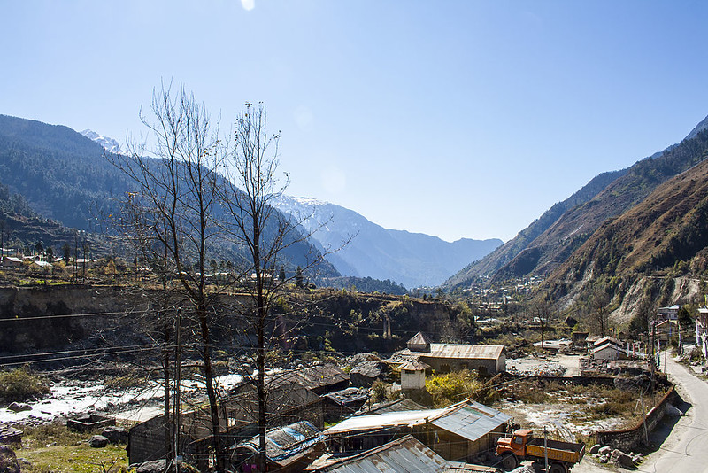 Lachung Town - North Sikkim