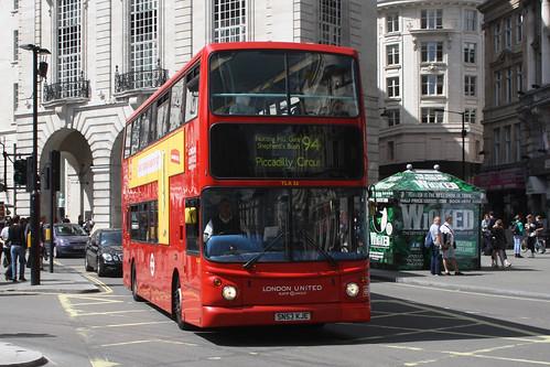 London United TLA26 SN53KJE
