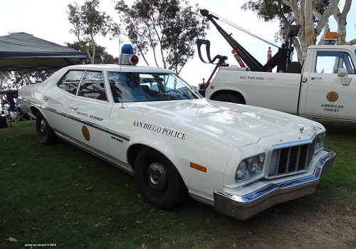 New Ford Torino >> San Diego CA Police - 1974 Ford Grand Torino (restored) | Flickr