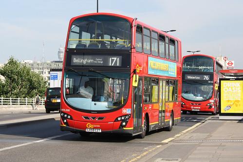 London Central WVL300 LX59CZT