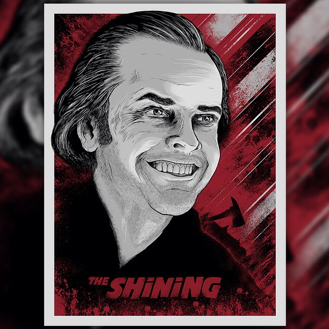 The Shining Screen Print