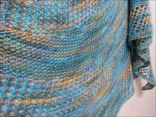 Costa del Mar shawl, detail 1