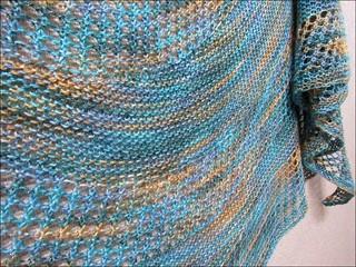 Costa del Mar shawl, detail 1