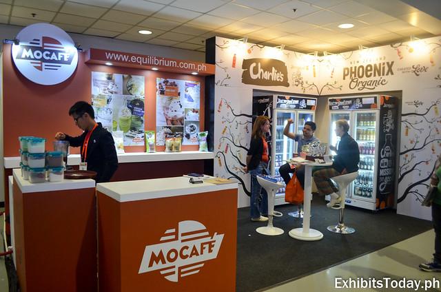 Mocafe Exhibit Booth