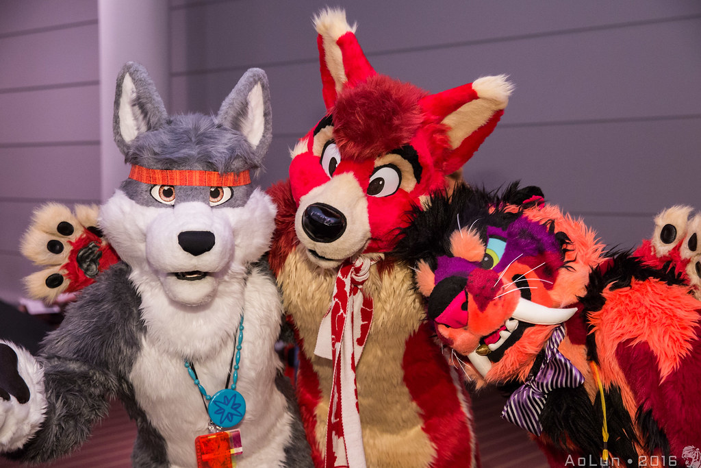 Anthrocon Fursuit Photo