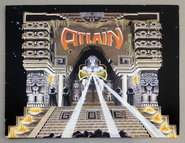 "ATLAIN G.O.E. 12"" LP ALBUM VINYL"