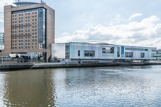 THE WATERFRONT HALL IN BELFAST [WITH NEW EXTENSION]-121113 | by infomatique