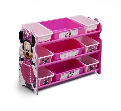 Delta Minnie Mouse Bin Organizer 9 Cajones Juguetes Niña 1