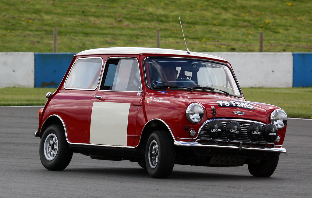 1964 Austin Mini Cooper S 79 Fmo Donington Park 2015 Flickr