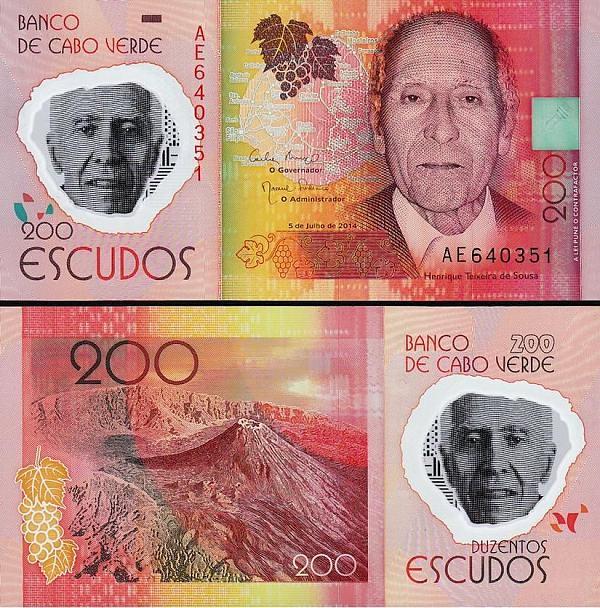 200 Escudos Kapverdy 2014