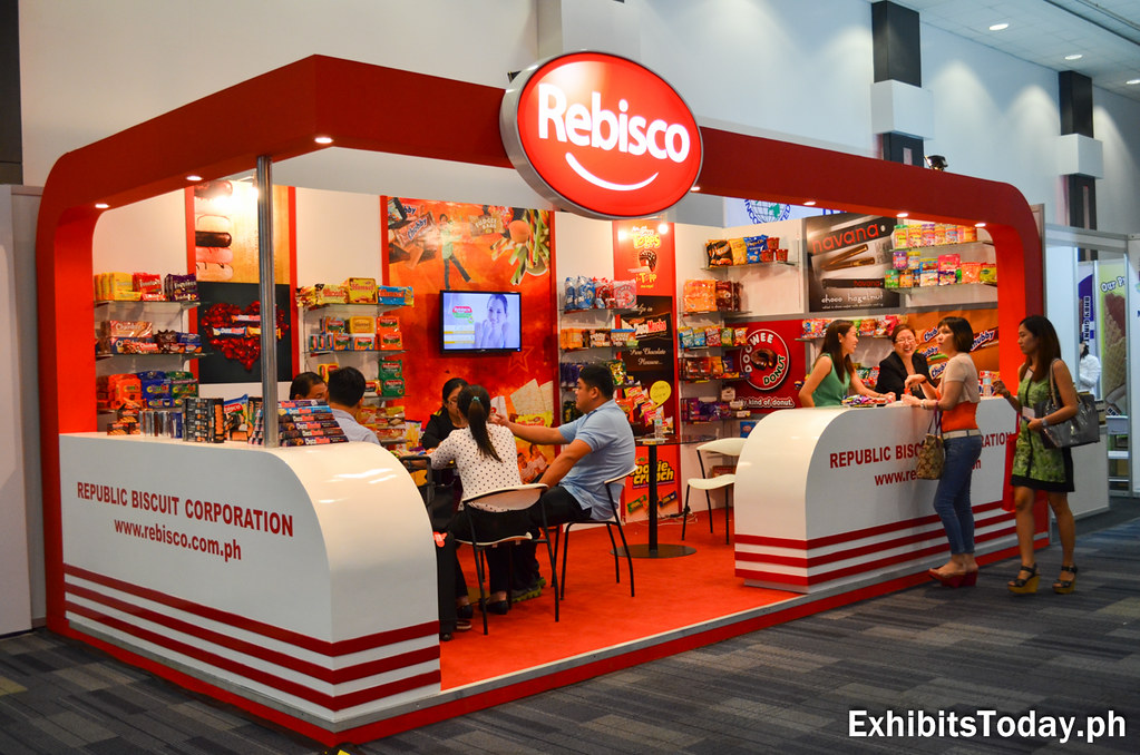 Rebisco Exhibit Booth