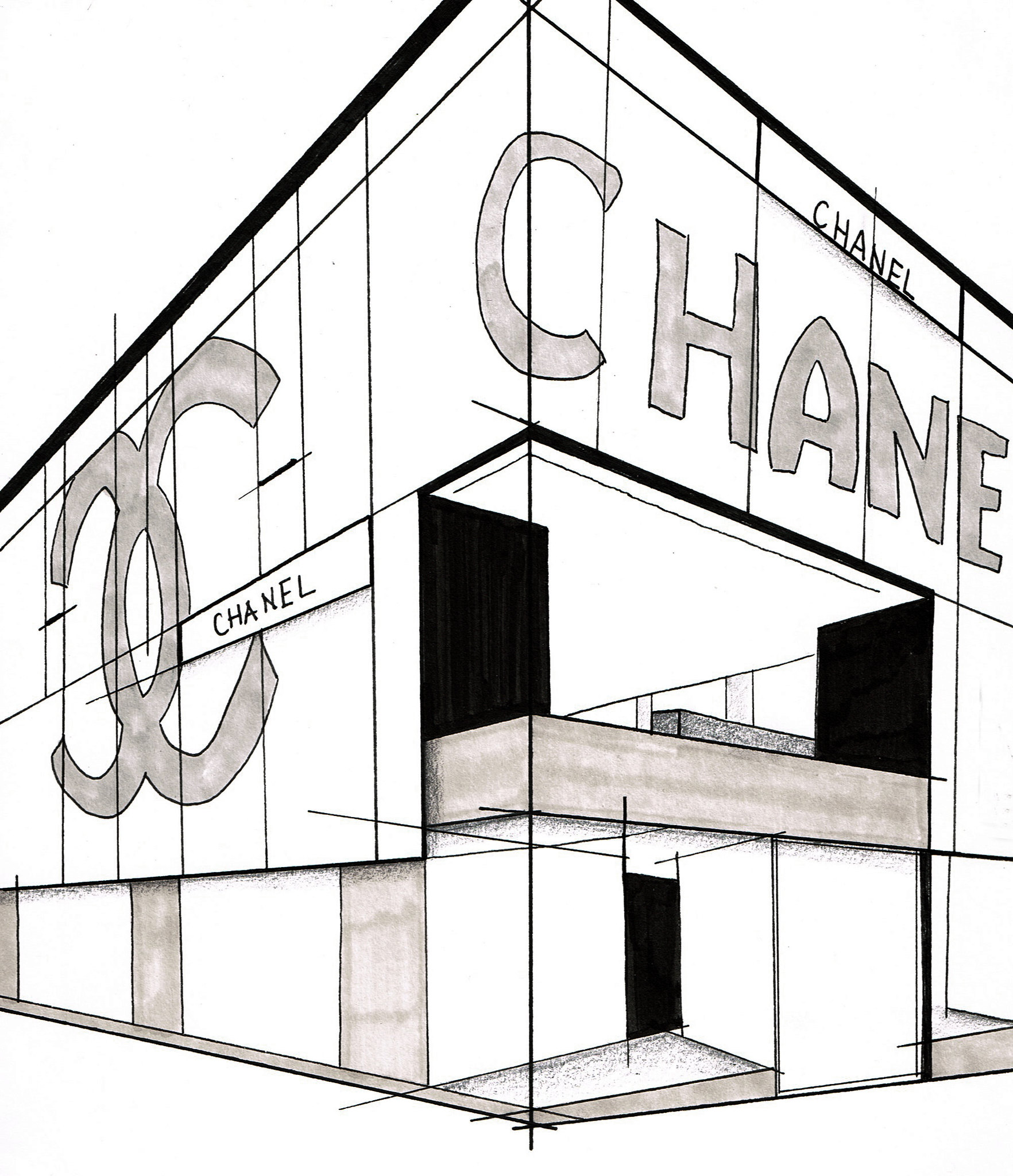 something fashion blogger valencia moda, estilo, fashion editorial window shopping architecture, fashion illustration blog promarker interior design, architecture sketch style outfits, jill sander paris chanel osaka rem koolhas new york PRADA dior