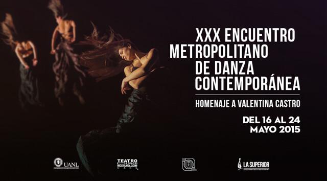 XXX Encuentro Metropolitano de Danza Contemporánea